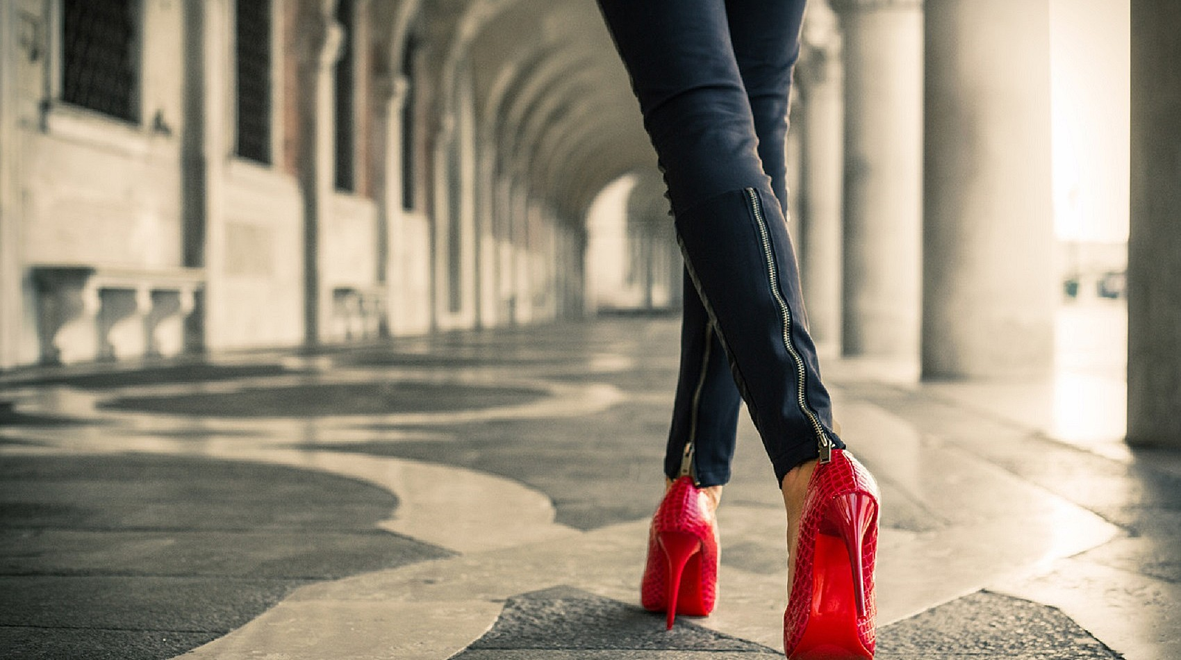 When the nerves kick in. How wearing red shoes helped my nerves!